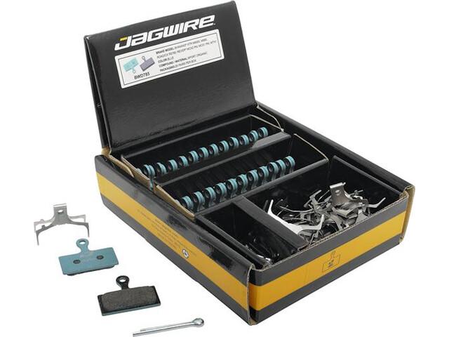 Jagwire Sport Organic Disc Brake Pads Shimano XTR/Deore XT/Deore/Alfine 25 Pairs, azul